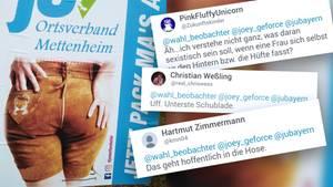 Ein Wahlplakat der Jungen Union sorgt für Aufregung im Netz.