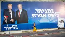 Donald Trump Benjamin Netanjahu