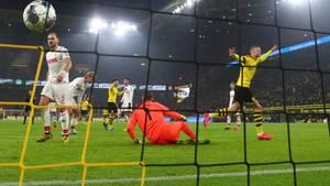 Haaland trifft gegen Köln