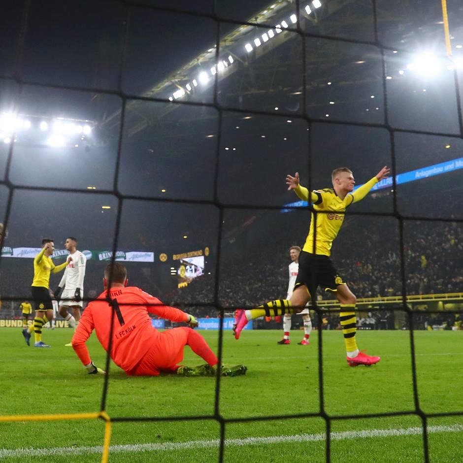 Doppelpack nach Hattrick: Ho Ho Haaland! BVB-Neuzugang schreibt mit fünf Toren in 56 Minuten Liga-Geschichte
