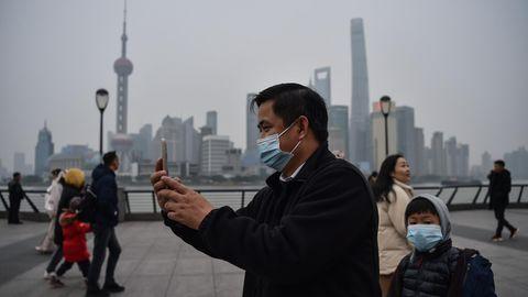 Coronavirus-Toter in Shanghai