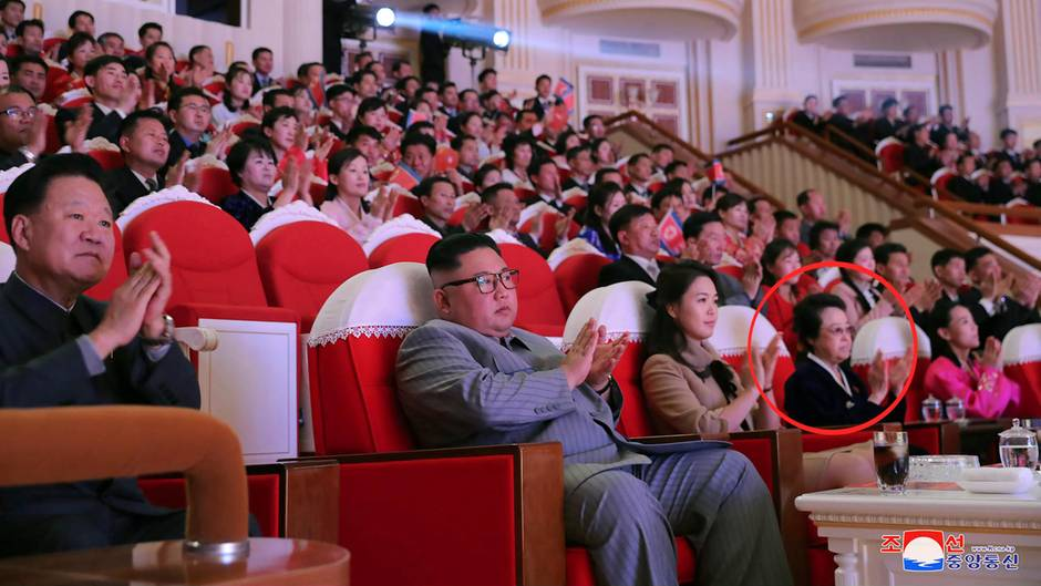Kim Jong Uns Tante Kyong Hui