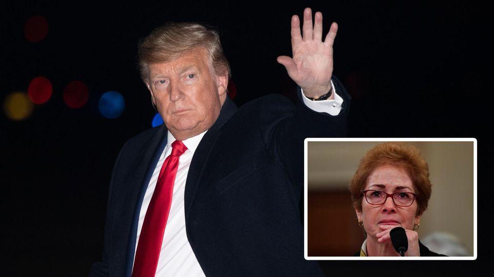 """Donald Trump über Maria Jowanowitch: """"Werft sie raus"""""""