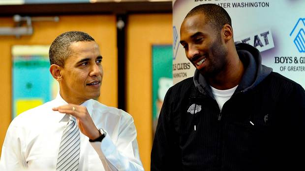 Auch Barack Obama war ein Fan von Kobe Bryant.