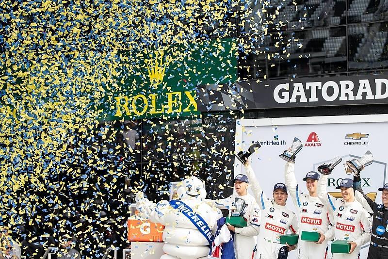 Siegerehrung Daytona 2020