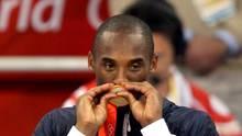 Kobe Bryant mit der olympischen Goldmedaille