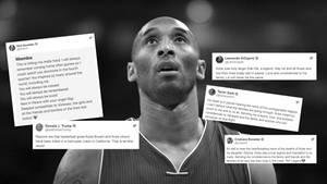 Die (Sport-)Welt reagiert auf den Tod der Basketball-Legende Kobe Bryant