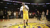 Bryant nach seinem letzten Spiel für die Los Angeles Lakers