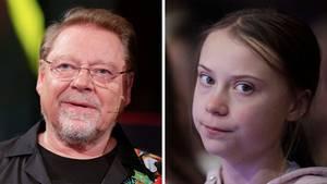 Jürgen von der Lippe und Greta Thunberg