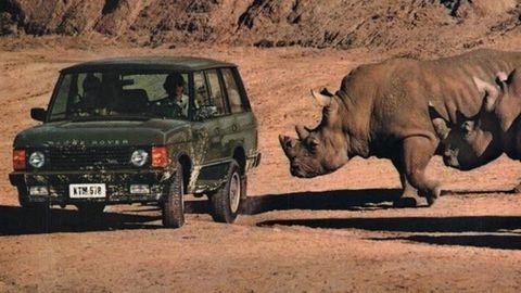 Der Range Rover wurde gebaut, um jenseits der Straße bewegt zu werden.