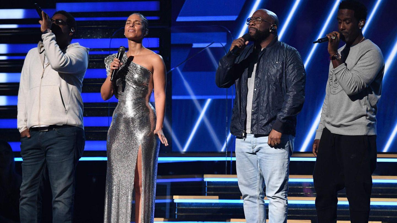 Alicia Keys und Boys II Men ehren Kobe Bryant bei den diesjährigen Grammys