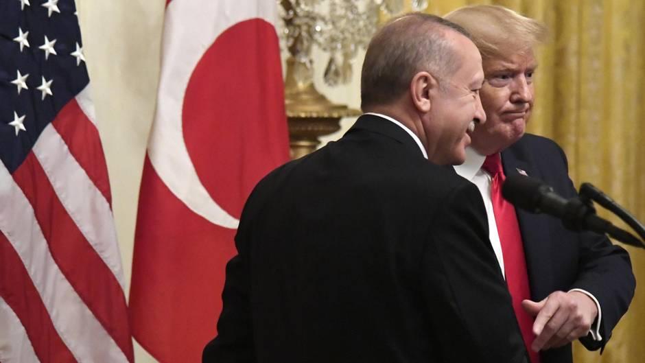 Donald Trump und Recep Tayyip Erdogan