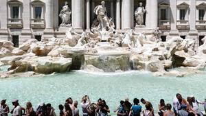 """Die """"Fontana di Trevi"""" steht bei den meisten Rom-Besuchern auf der Sehenswürdigkeiten-Liste"""
