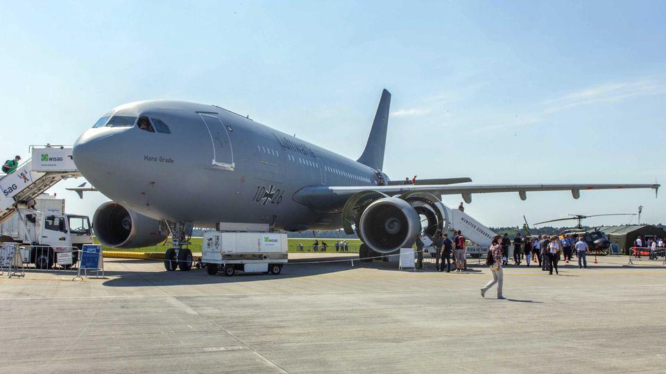 Medevac-Airbus der Luftwaffe