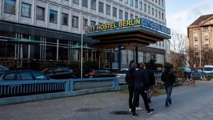 """Blick auf das """"City Hostel Berlin"""" in Berlin-Mitte"""