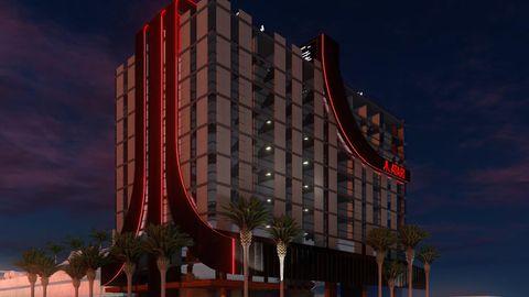 So soll das Atari-Hotel aussehen