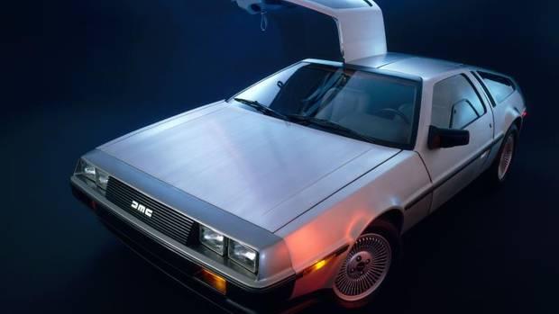 Wie der Cybetruck von Tesla wurde derDMC-12 nicht lackiert