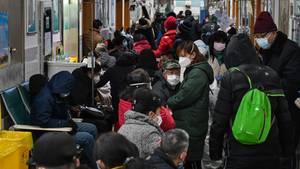 Coronavirus: Überfülltes Krankenhaus in Wuhan