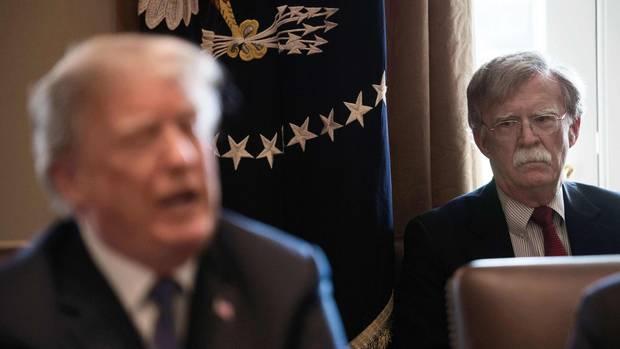 Donald Trump und John Bolton