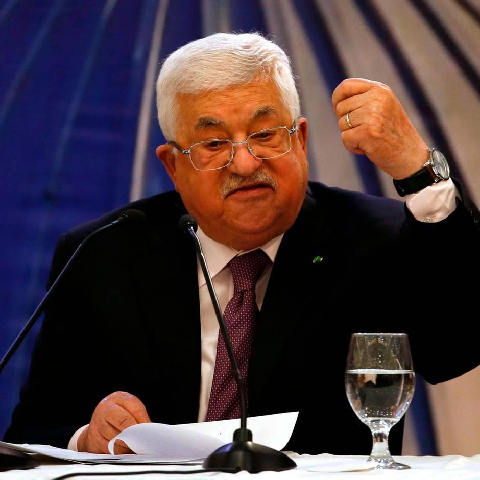 Zugeständnisse an Israel: So reagieren die Palästinenser auf Trumps Nahost-Pläne