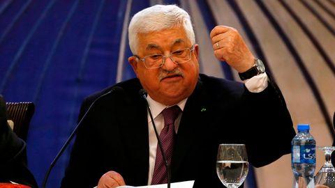 Der Palästinensische Präsident Mahmud Abbas