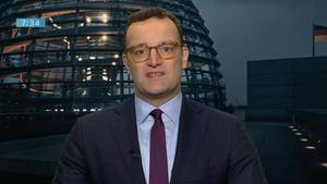 """Jens Spahn zum Coronavirus: """"Anlass für übertriebene Sorge besteht nicht"""""""