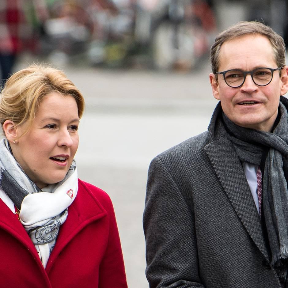 Regierender Bürgermeister: Müller verzichtet auf Berliner SPD-Landesvorsitz – für Familienministerin Giffey?