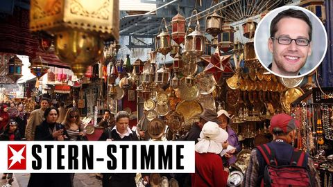 Lost in Nahost: Markt in Tunis