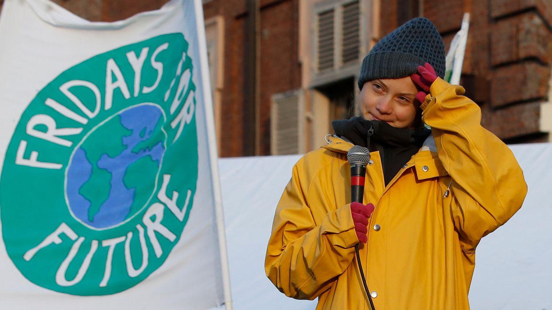 Greta Thunberg, 17, Klimaaktivistin und Schülerin aus Schweden