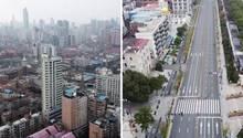 Coronavirus- Epidemie: Wuhan gleicht einer Geisterstadt