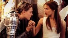 """Leonardo DiCaprio und Claire Danes spielten 1996 im Film """"William Shakespeares Romeo + Julia"""""""