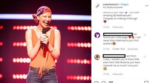 The Voice-Kandidatin Natasha Stuart