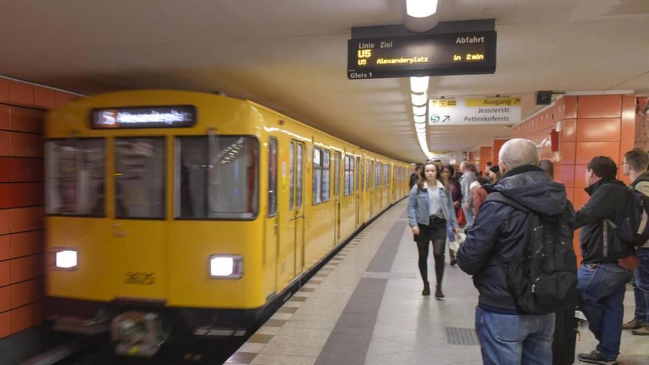 U-Bahnhof in Berlin