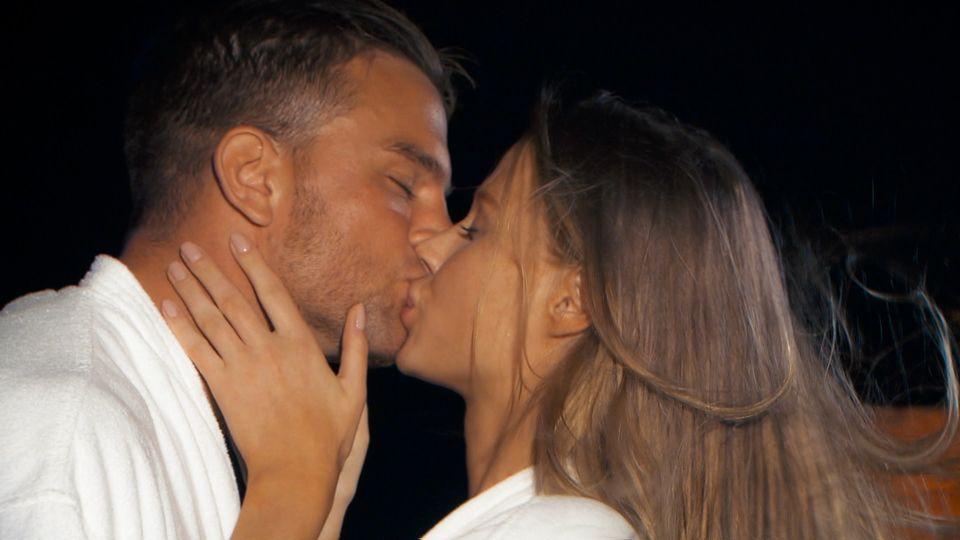 """""""Der Bachelor"""" Sebastian Preuss und Leah"""
