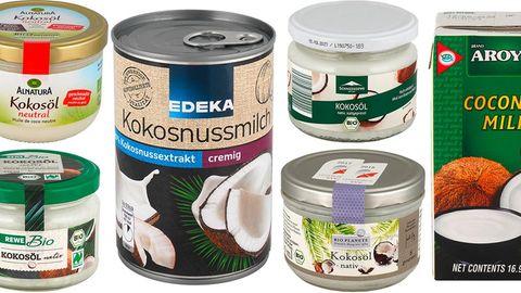 Kokosmilch und Kokosöl