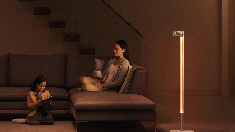Der Lightcycle Morph verbreitet abends angenehmes Ambient-Licht.