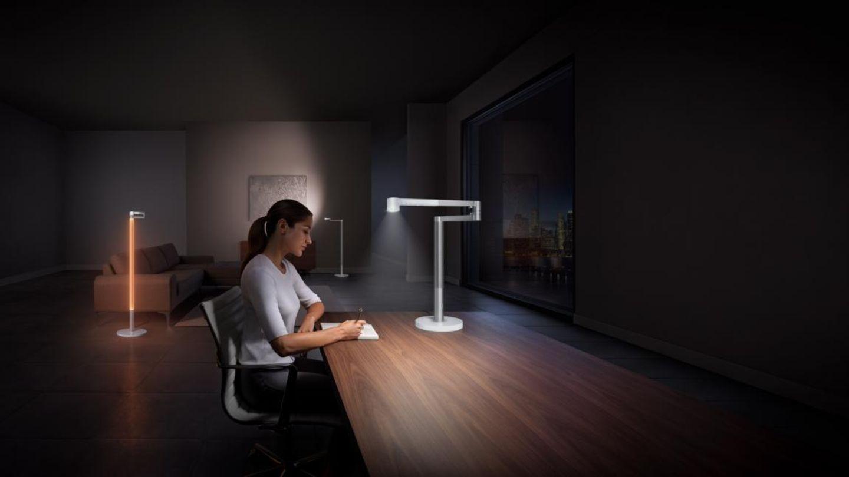Ohne Diffusor lässt sich das gerichtete Licht zum Lesen und Arbeiten benutzen.