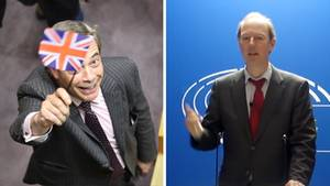 Nigel Farage vs Martin Sonneborn