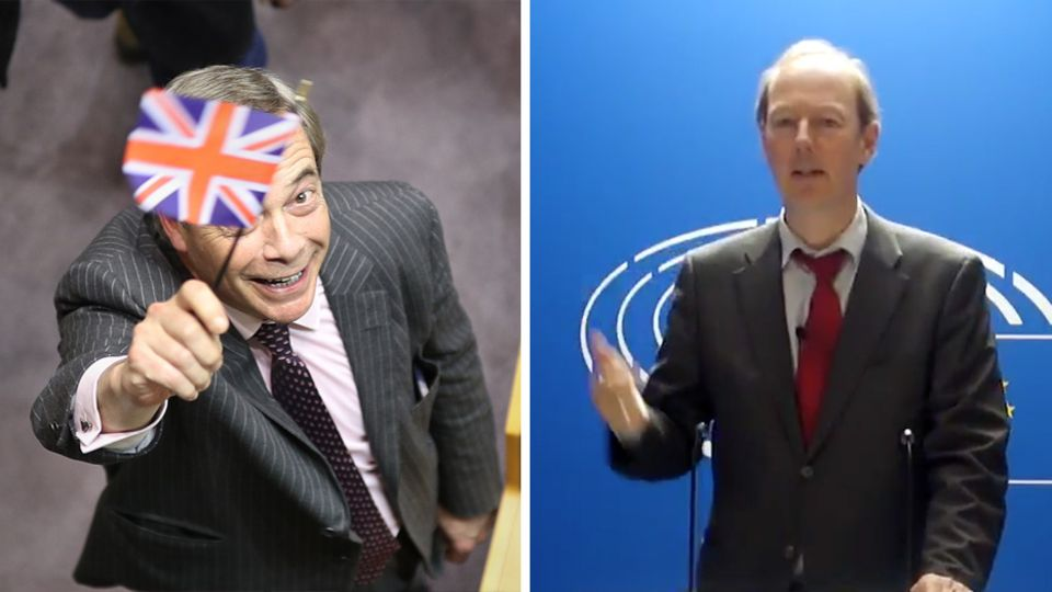 Nigel Farage vs Martin Sonneborn