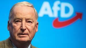 Alexander Gauland, Fraktionsvorsitzender der AfD-Bundestagsfraktion