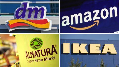 dm vor Rossmann: Das sind die beliebtesten Einzelhändler in Deutschland - Amazon rutscht ab