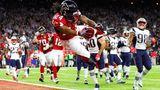 Touchdown von Devonta Freman gegen die New England Patriots