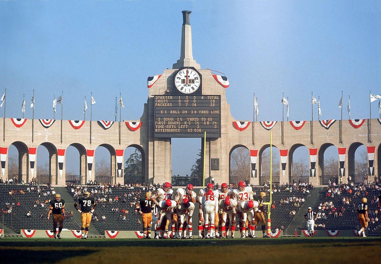 Der erste Super Bowl