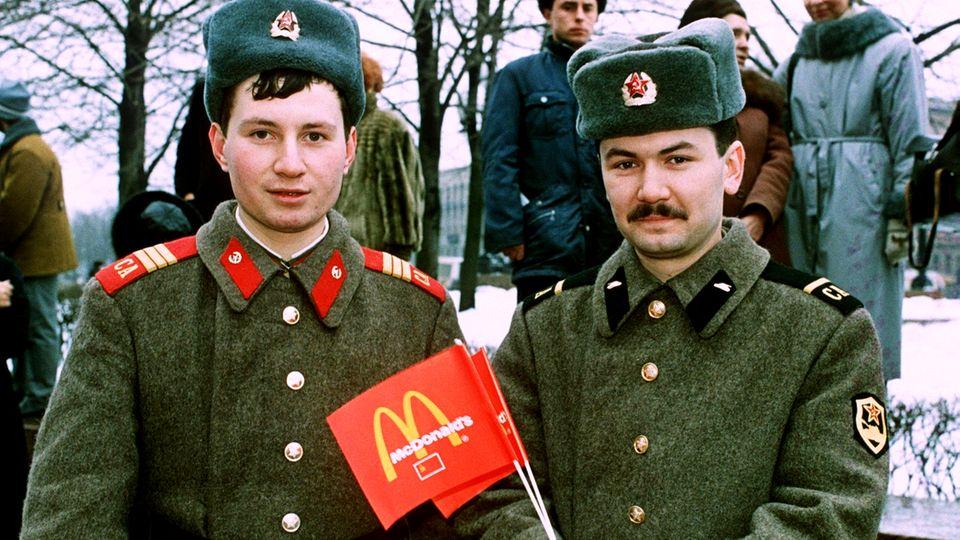McDonald's in Russland