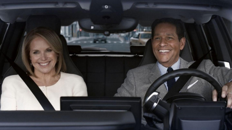 BMW Super Bowl Werbung: Katie Couric und Bryant Gumbel