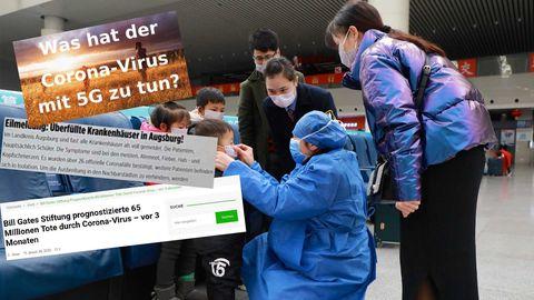 Zum Coronavirus finden sich im Internet unzählige Falschinformationen
