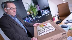 Iain Macnab, schottischer Bürgermeister der kleinen Gemeinde Brunsmark bei Mölln