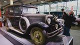 Adler Favorit 8/35 Bj.1829 mit 35 PS und1943 ccm. Dieses Modell vom PS-Speicher Einbeck war als Taxi in Berlin zugelassen. Zwischen 1929 und 1933 wurden etwa 1400 Stück hergestellt.