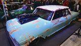 Auch am Clubstand von Drag Racing Germany: Eine Chevrolet Nova von 1963 mit 1000 PS und Zehn-Liter-Hubraum.