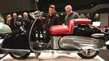 Sonderschau Motorrollerkultur in Deutschland: Bastert Einspurauto. Der Luxusscooter sollte verhinderte Autofahrer beglücken und wurde vom Bielefelder Fabrikanten Helmut Bastert hergestellt. Die Stückzahlen blieben rar.